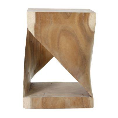 Mesa auxiliar madera de acacia
