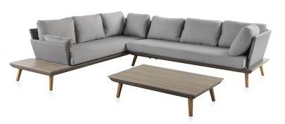 Conjunto sofá Corner ¡El mejor estilo en tu jardín!
