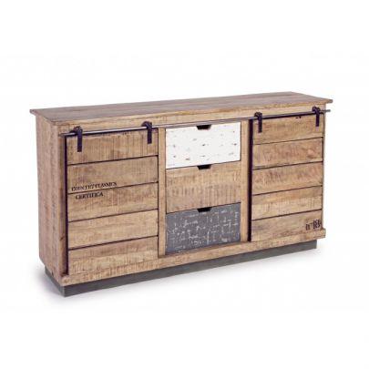 Aparador Tudor industrial madera reciclada
