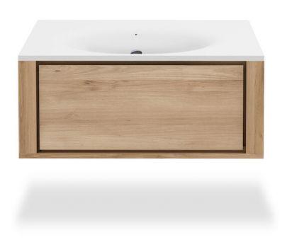 Mueble lavabo Qualitime Ethnicraft colgante