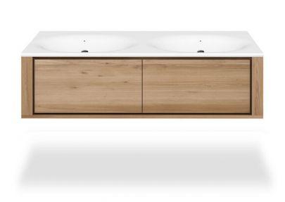 Mueble lavabo Layers 4 cajones colgante