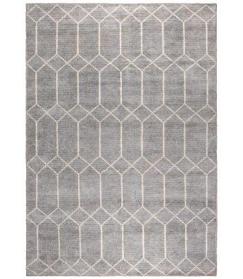 alfombra nordica gris