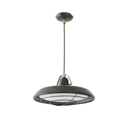 Lámpara-techo-clásico-moderno-PLEC-marrón