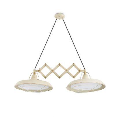Lámpara-techo-extensible-PLEC-2-beige