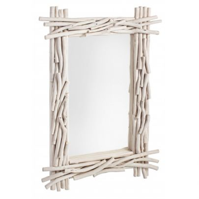 Espejo estilo nórdico para colgar en la pared