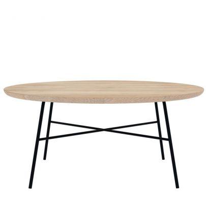 Mesa de centro redonda en roble - Ethnicraft