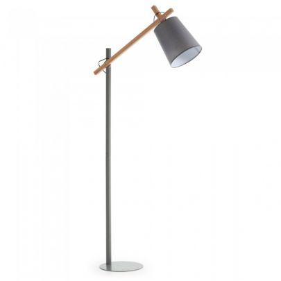 Lámpara de pie KOSTA, gris
