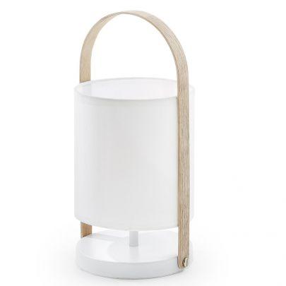 Lámpara sobremesa portátil nórdica ZAYLA