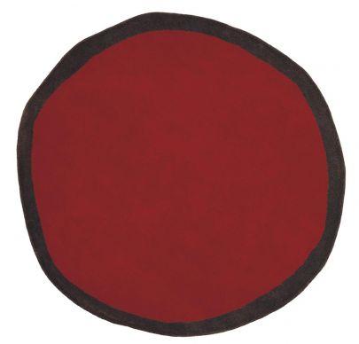 alfombra nanimarquina aros roja