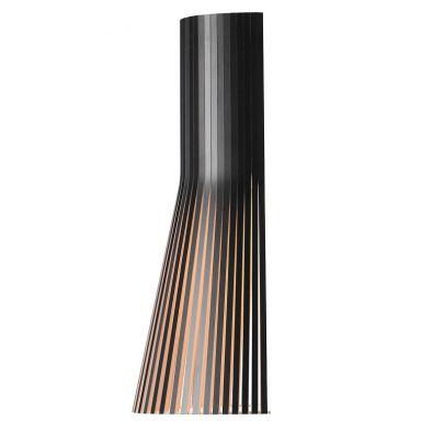 lampara de pared modelo Secto Small 4231en color negro