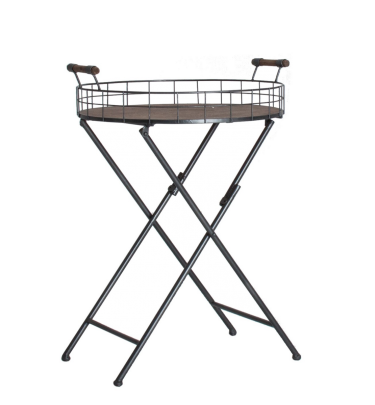 mesa auxiliar industrial plegable