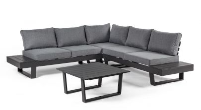 Set sofá esquinero Crozet. Para exterior