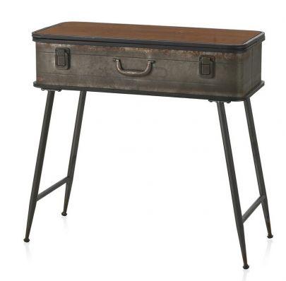 Consola industrial vintage cajón