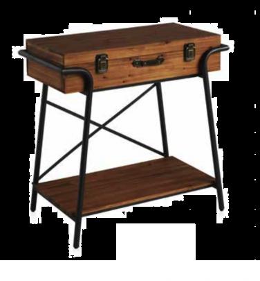 Consola cajón industrial vintage