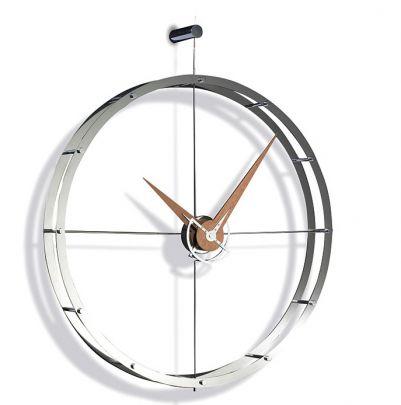reloj-pared-doble-o Nomon-minimalista