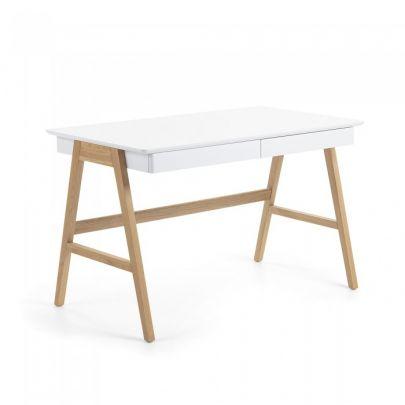 escritorio de estilo nordico fabricado en madera