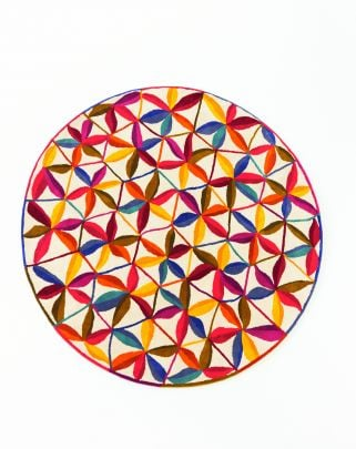 alfombra redonda kala
