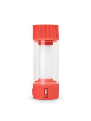 lampara portatil recargable modelo tjoepke de fatboy en color rojo