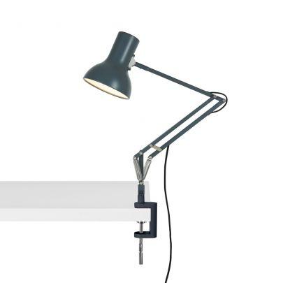 Lampara Mini tipo 75 con abrazadera de escritorio Anglepoise