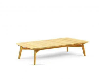 mesa centro rectangular Knit Ethimo exterior