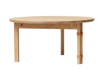 mesa centro redonda madera