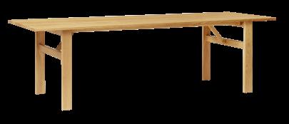 mesa comedor madera lineas finas
