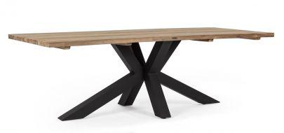 Mesa comedor exterior madera teca Bizzotto Homemotion