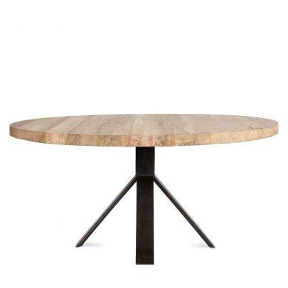mesa comedor dareels redonda jati en teca