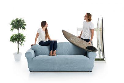 funda sofa fabricada en algodon y poliester