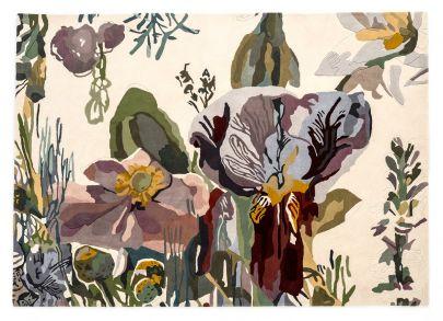 Alfombra Flora Backyard Nanimarquina. Acabados elegantes
