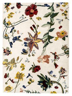alfombra flora rectangular nanimarquina