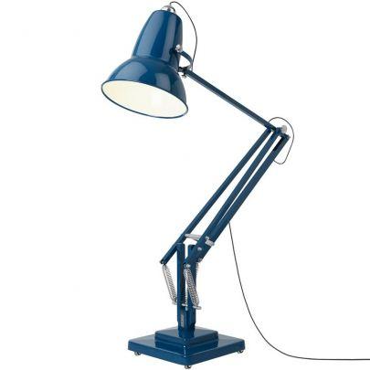 lampara de pie original 1227 giant de la marca anglepoise en color azul