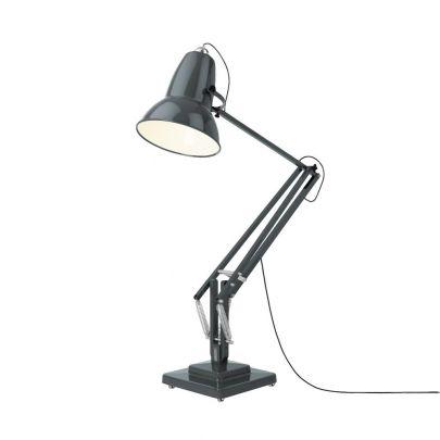 lampara gigante de pie de anglepoise original 1227 en color gris oscuro