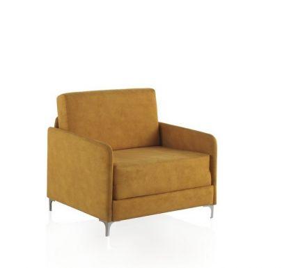 sillon cama individual minimalista