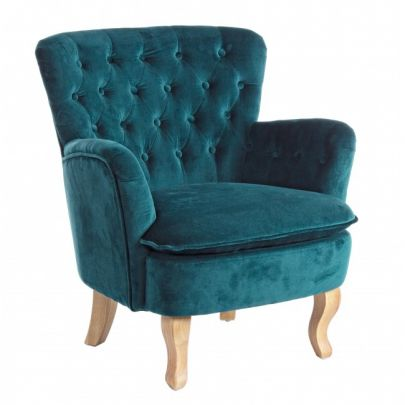sillón capitone clasico