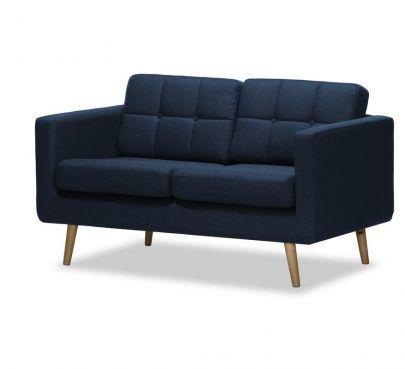 sofa nórdico 2 plazas brest tela Malmo