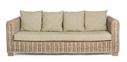 sofa ratan exterior 3 plazas
