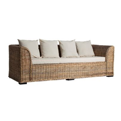 sofa exterior rattan 3 plazas