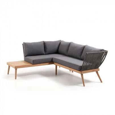 Sofa rinconera exterior jardin