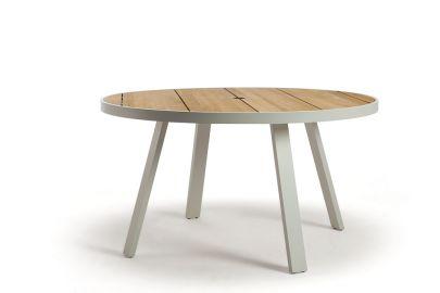 Mesa de comedor redonda para exterior- Ethimo