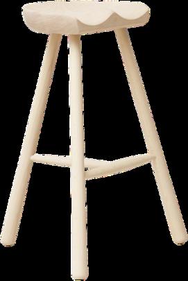 taburete alto diseno en madera