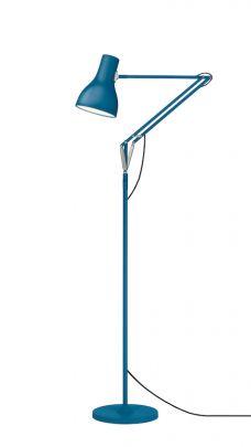 lampara de pie de anglepoise tipo 1228 en acabado negro