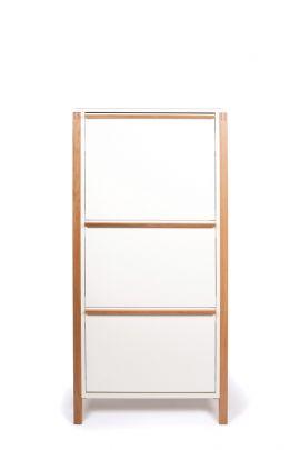 Zapatero vertical blanco NORTHGATE