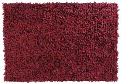 alfombra roja little field of flowers nanimarquina