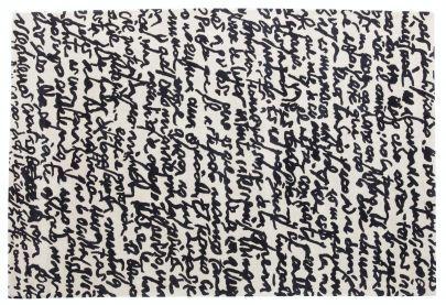 alfombra manuscrit Nanimarquina